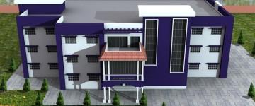 School Building 3D